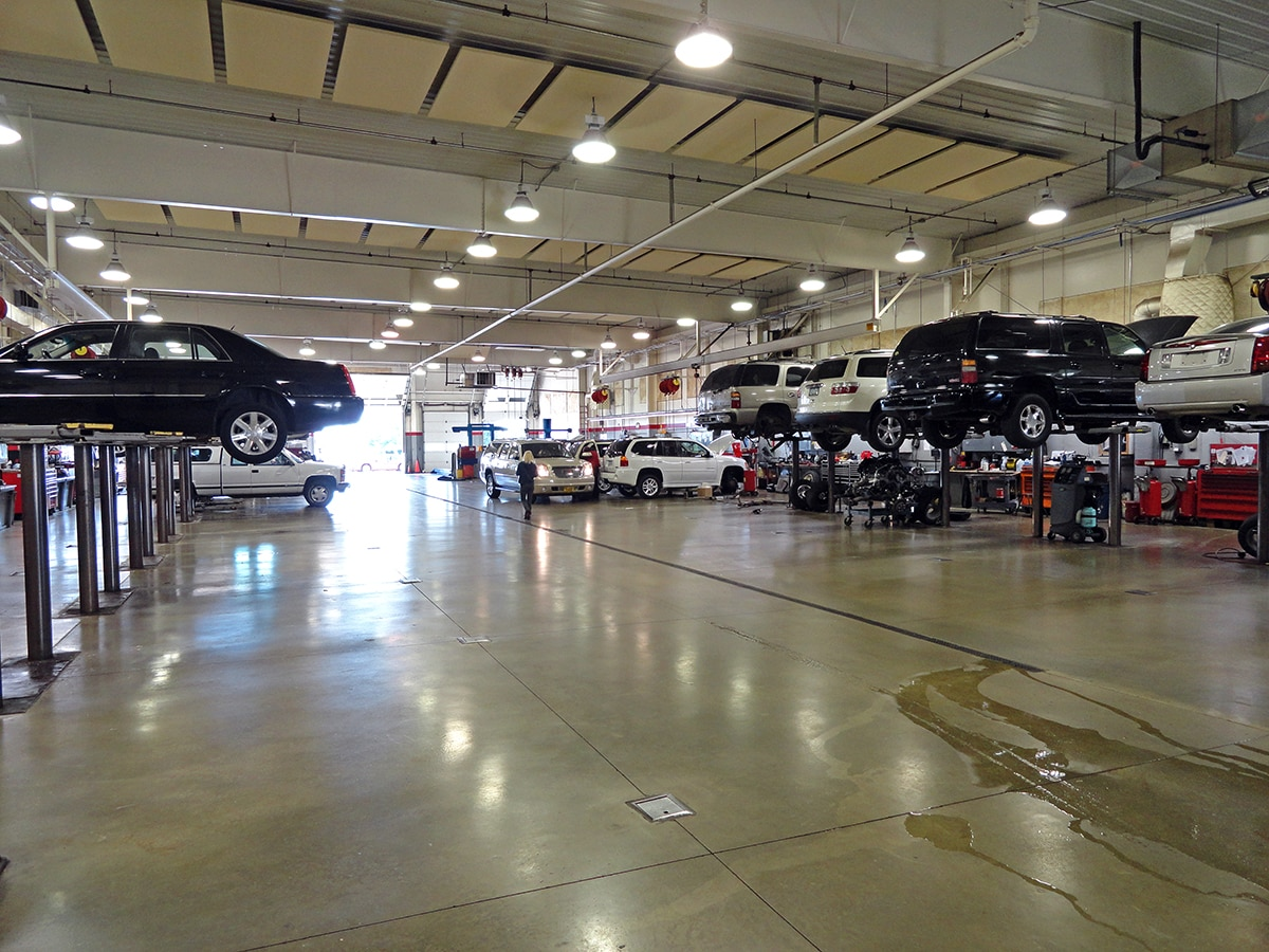 McGrath Buick GMC Cadillac Service Center Oil Change