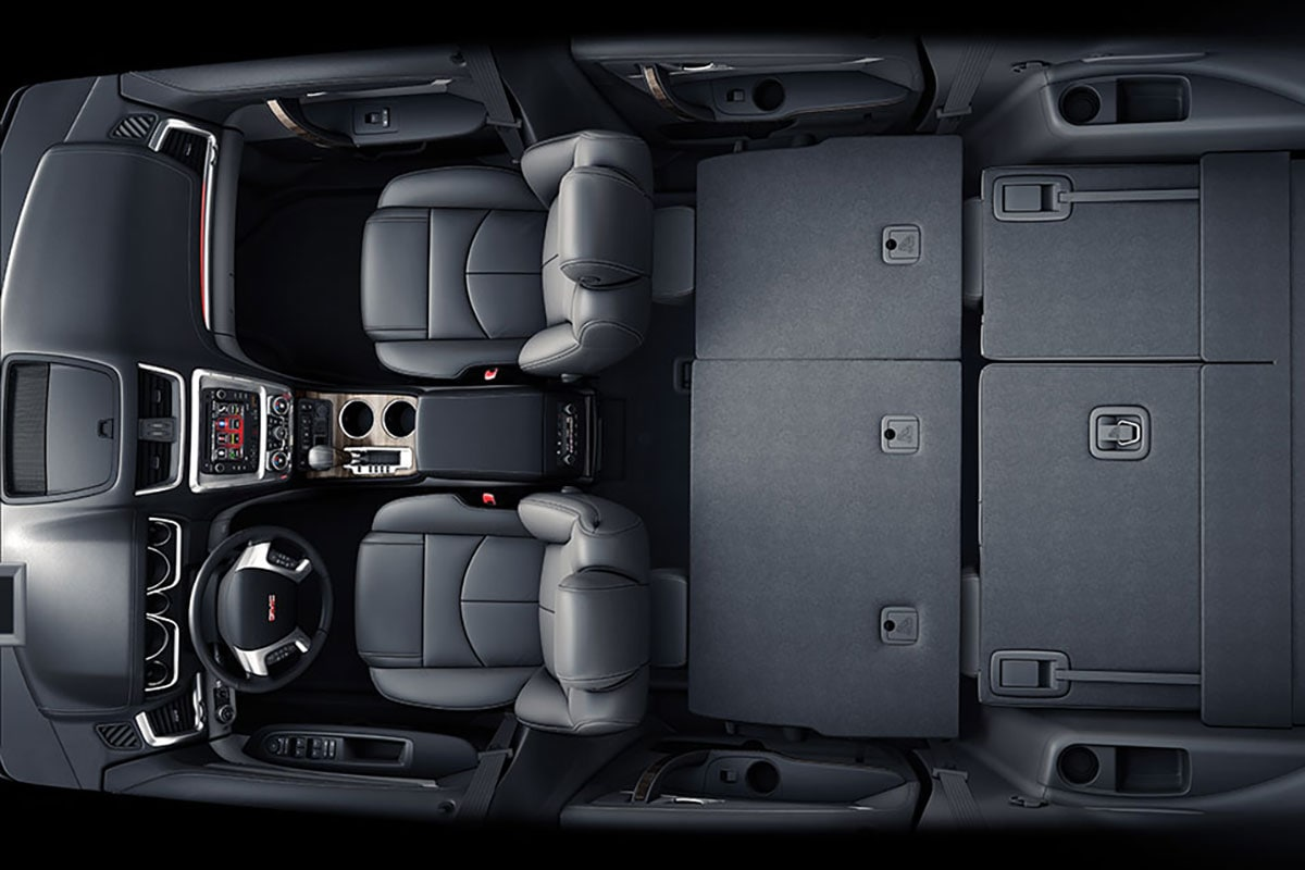 GMC Acadia interior seating
