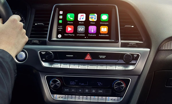 2019 Hyundai Sonata Infotainment Center Apple Car Play