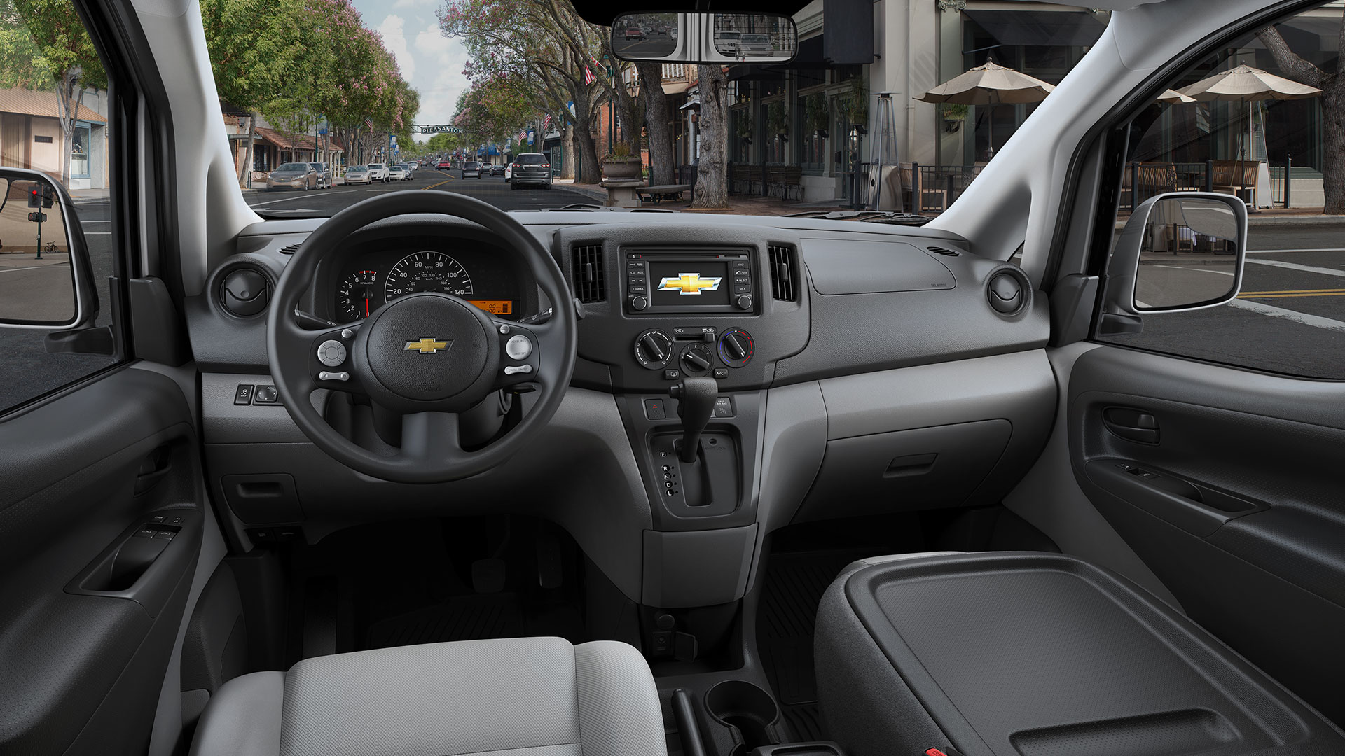 2016 Chevy City Express Commercial Van Technology