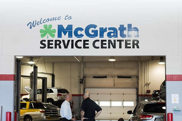 McGrath VW Service Department