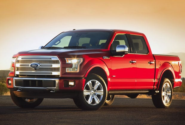 Red Used Ford F-150