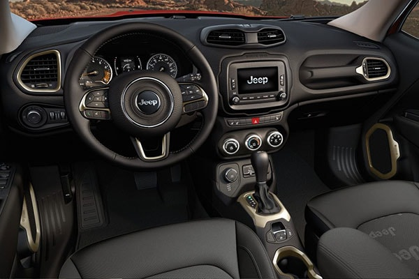 Jeep Renegade Technology features