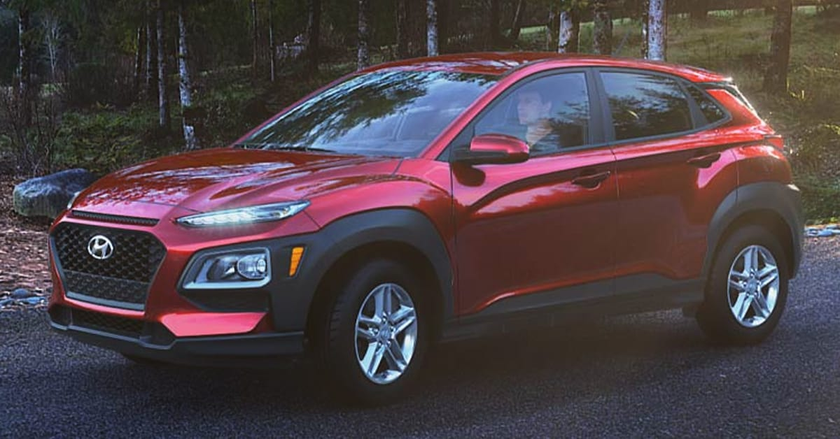 2019 Hyundai Kona Pulse Red