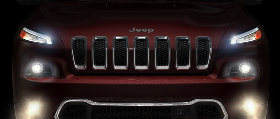 LED Headlamps on the Jeep Cherokee