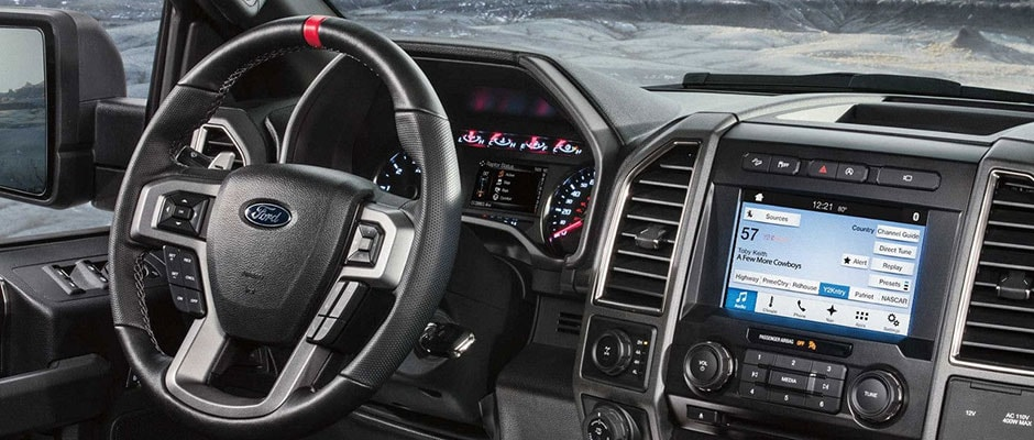 Inside the Ford F-150