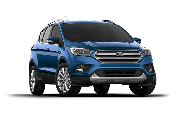 2017 ford escape titanium model front view