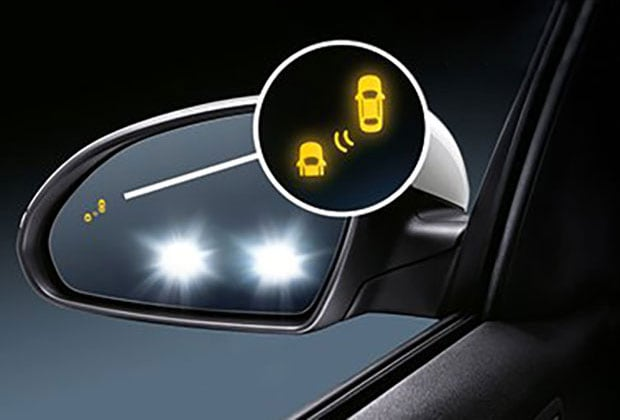 Kia Blind spot monitoring