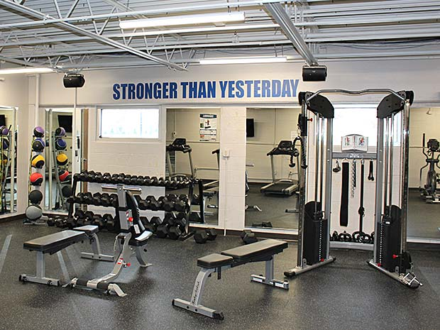 McGrath Fitness Weight Room