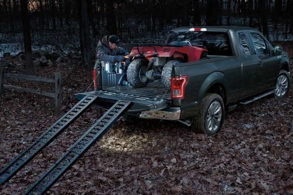 2016 f150 bed ramps