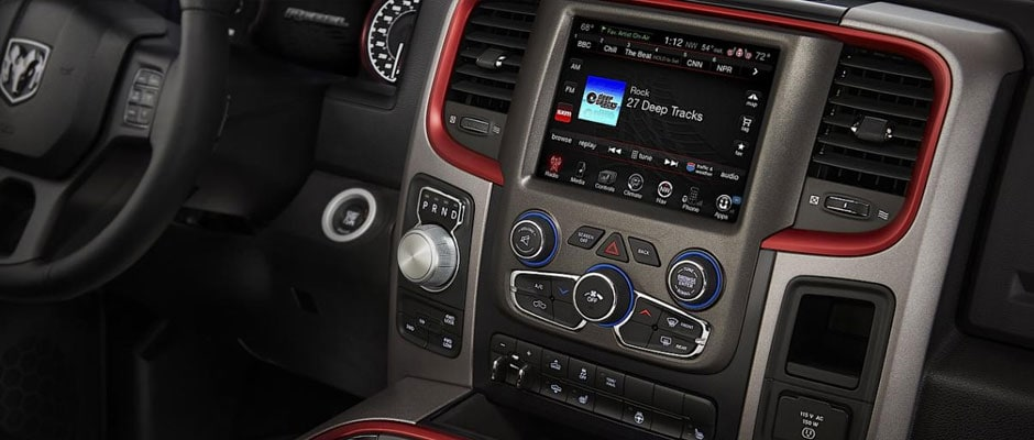 Touchscreen system in the ram 2500
