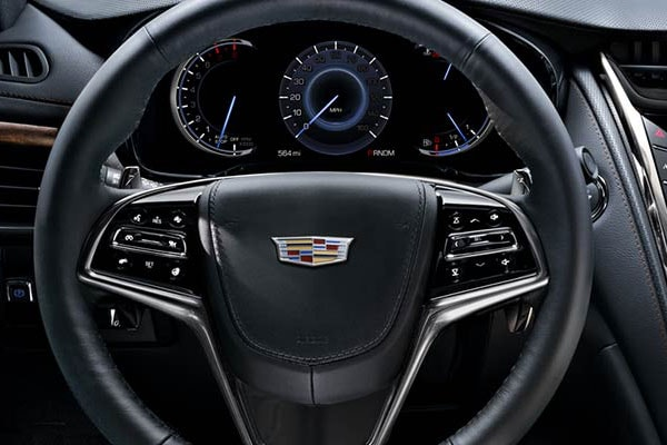 Cadillac CTS Interior seating