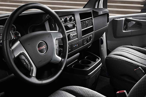 GMC Savana Interior Seating
