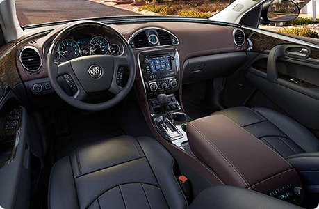 Buick Enclave Interior Seating