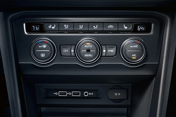 2020 Tiguan Auto Climate Control Air Conditioning
