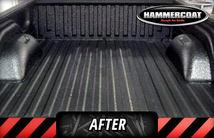 After Hammercoat Bed Liner