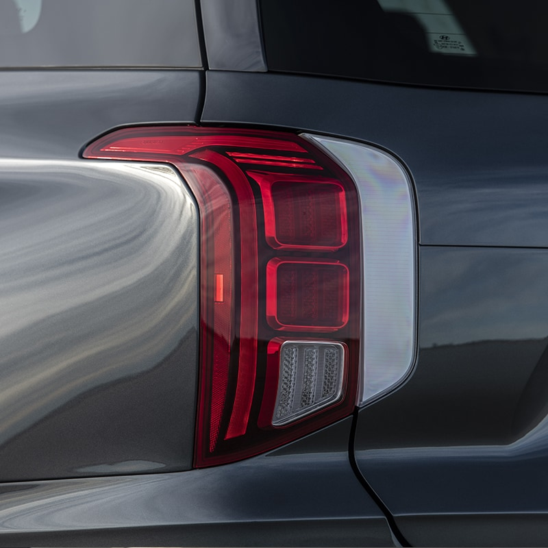 2020 Hyundai Palisade rear vertical taillights