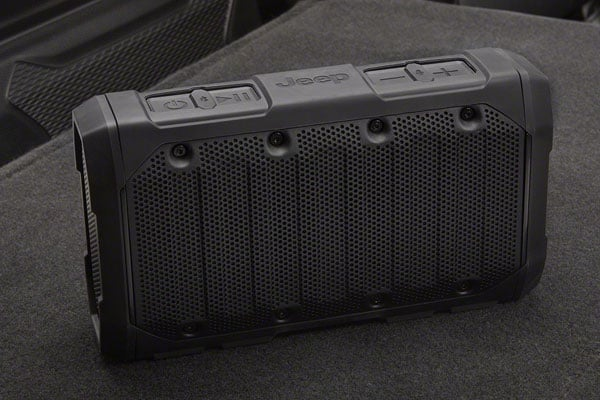 2020 Jeep Gladiator Portable Speaker
