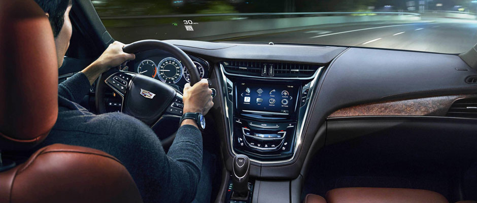 Cadillac Cue Technology