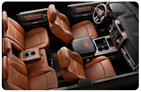 Ram 1500 Interior Seating