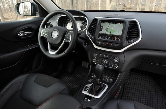 Red 2016 Jeep Cherokee Interior Dashboard Image Good Ideas