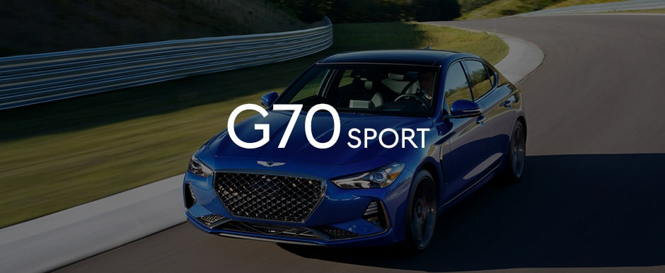 G70 sport racing on the track