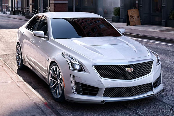 Cadillac CTS-V Safety Features