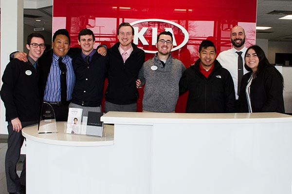 Our McGrath Kia Staff is here to help!