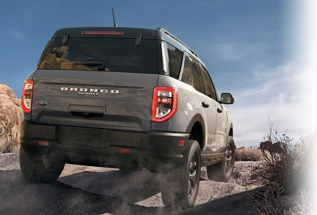 2021 Ford Bronco Sport Rear Design