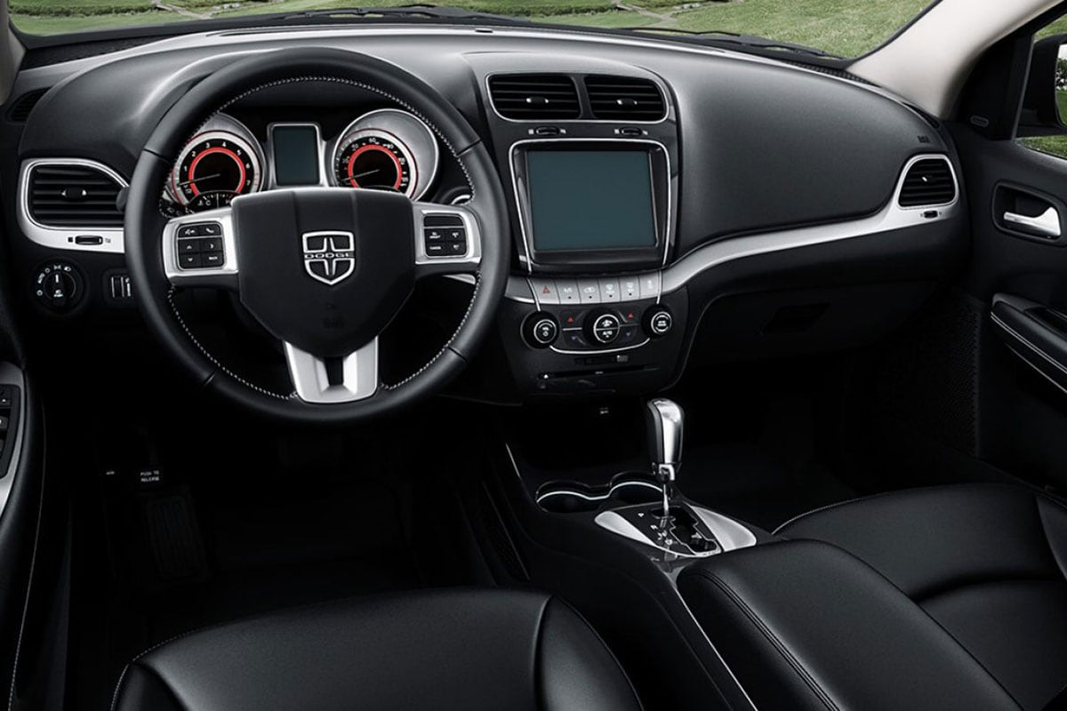 Dodge Journey Interior seating