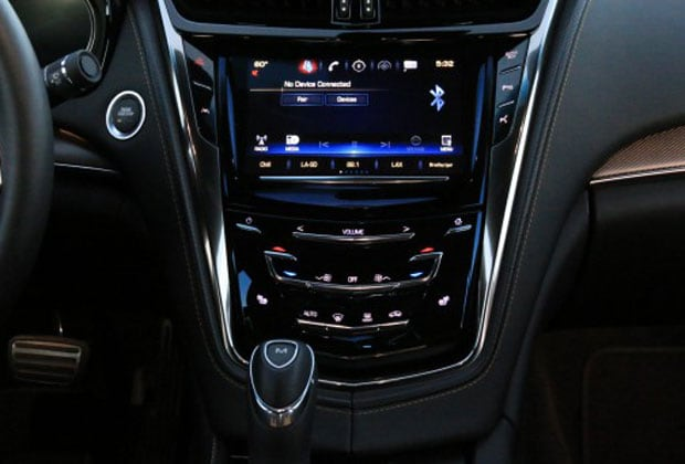 Cadillac Cue System in the 2016 Cadillac CTS