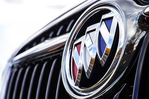 2019 Buick Envision Buick Emblem on front grille
