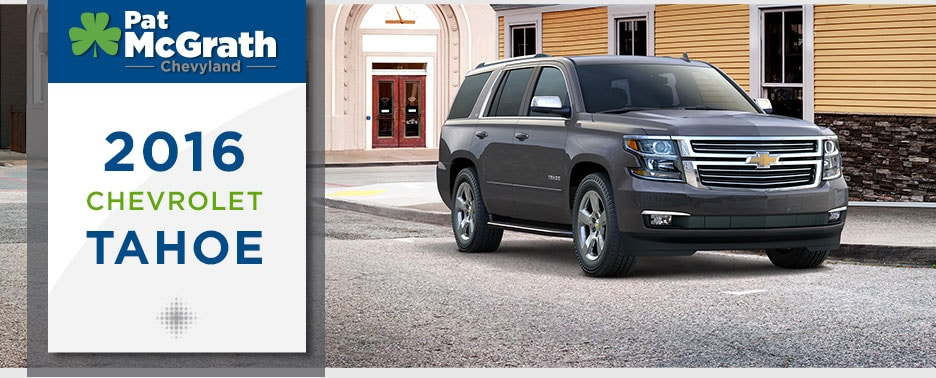 2016 chevy tahoe review msrp seating price cedar rapids iowa city waterloo mcgrath auto. Black Bedroom Furniture Sets. Home Design Ideas