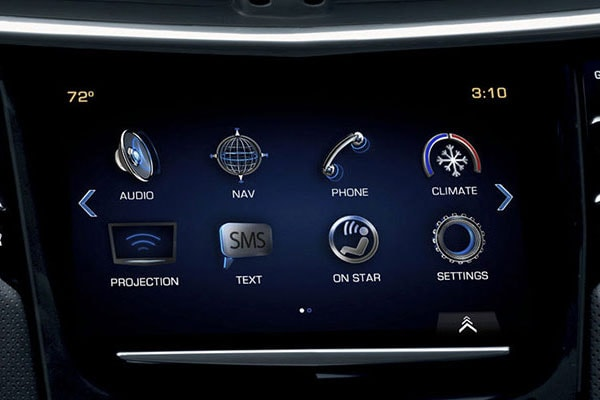 Cadillac XTS Technology features