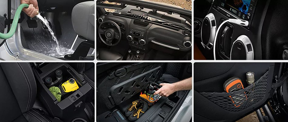 2016 Jeep Wrangler Unlimited Interior Features