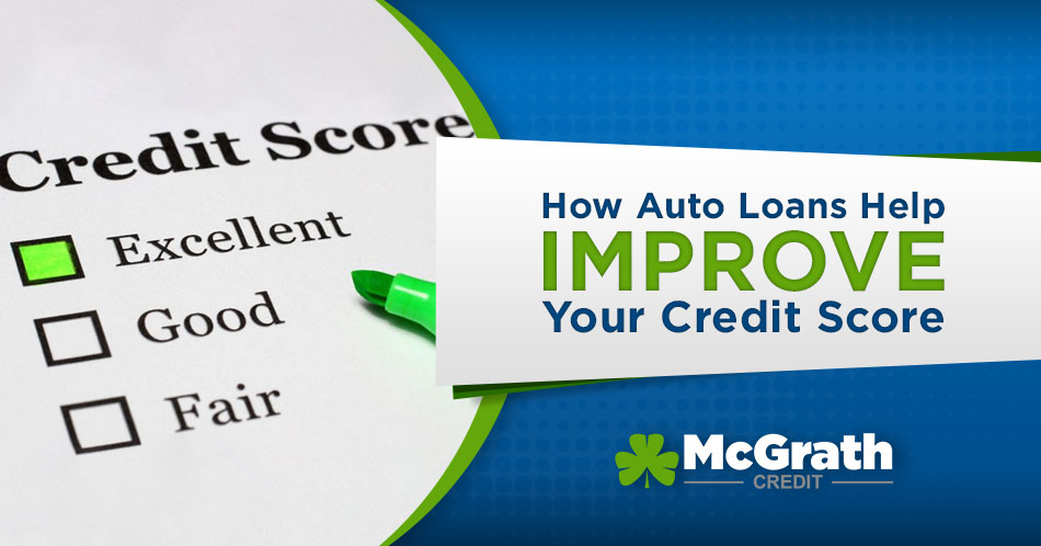 How auto loans improve credit scores