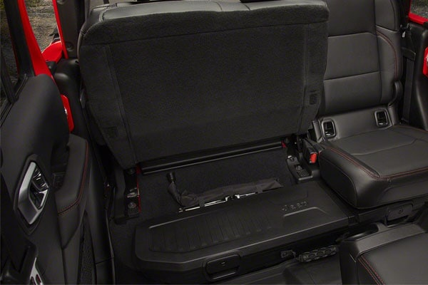 2020 Jeep Gladiator Storage Compartments
