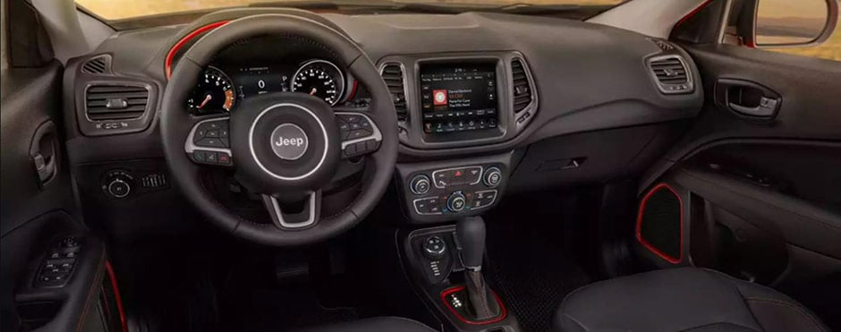 2018 Jeep Compass Interior