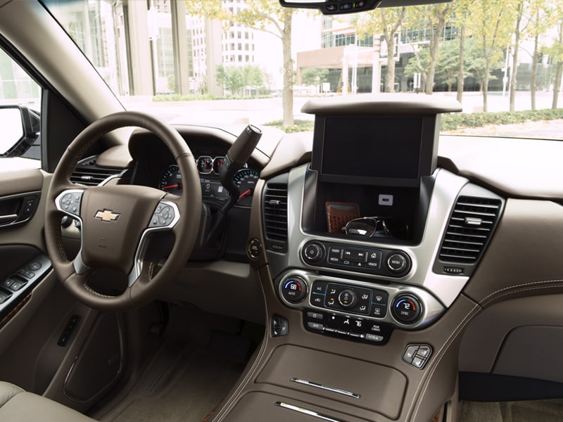 2019 Chevy Suburban Front Cabin Dash and Touchscreen