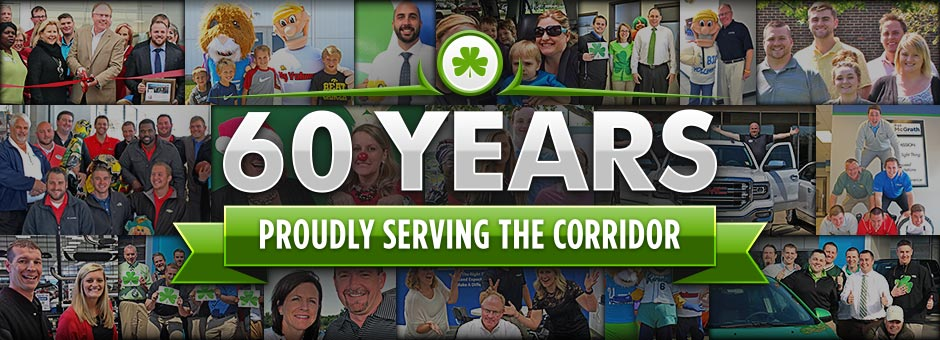 60 Years Proudly Serving the Corridor!