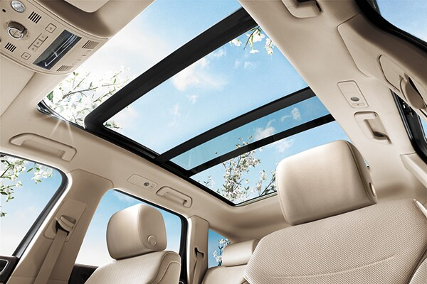 Volkswagen Touareg Panoramic Sunroof