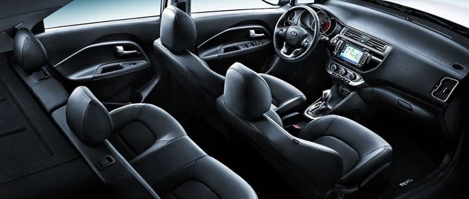 Inside the Kia Rio