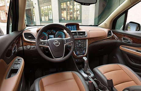 Buick Encore Steering wheel Controls