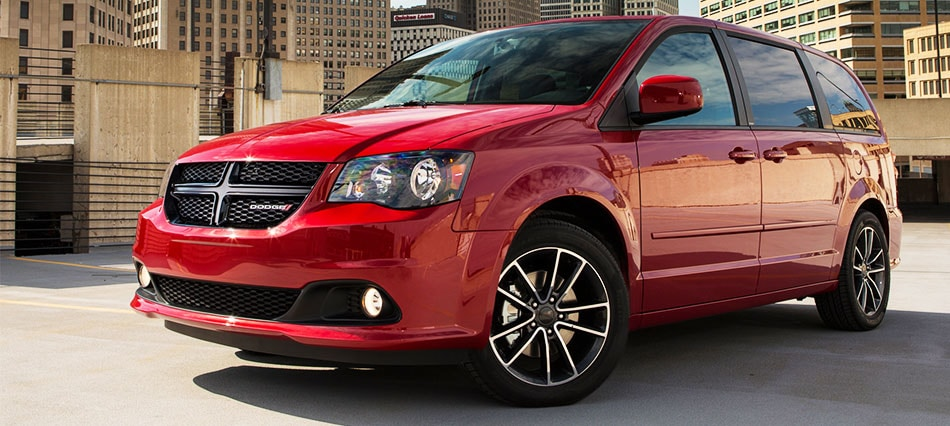 2016 Dodge Grand Caravan in the City