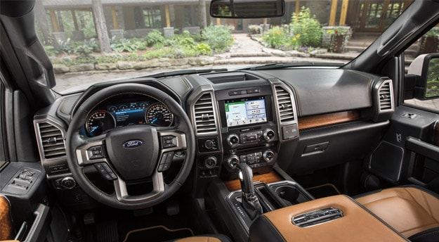 2016 f150 interior dashboard
