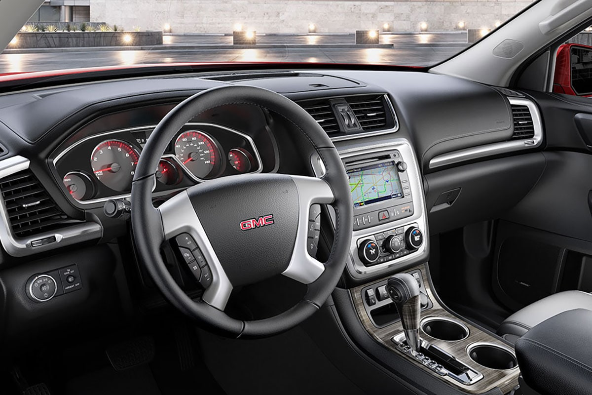 GMC Acadia technology features