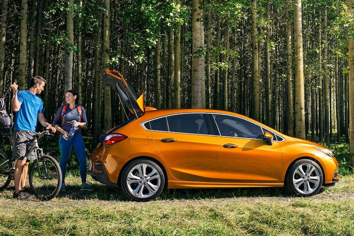 The Cruze hatchback is the perfect car for all your adventures