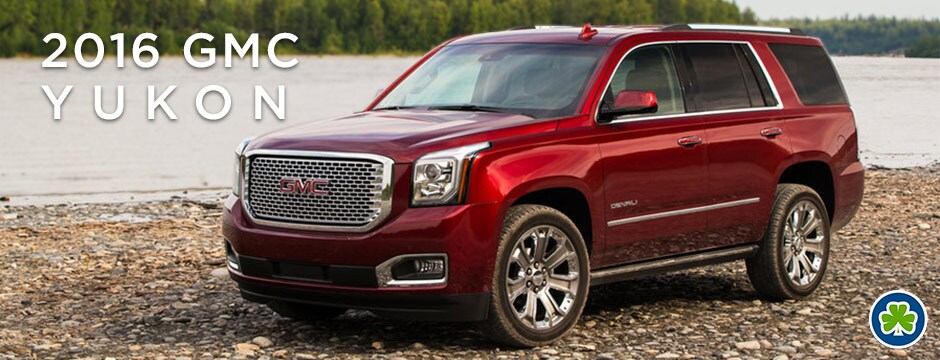 Red 2016 GMC Yukon Front Angle