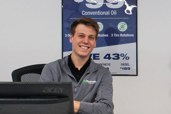 Service Advisors at McGrath Auto