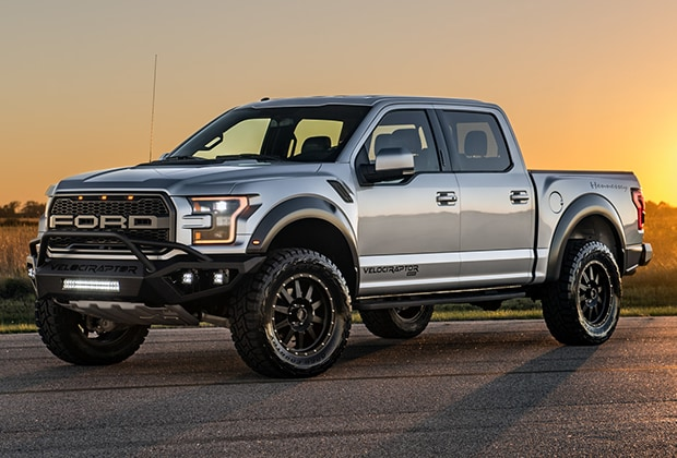 2018 Ford Raptor at Sunset